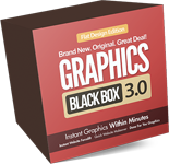 Graphics Black Box 3.0 Flat Design Edition Pack