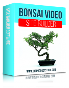 SoftwareBonsaiVideoSiteBuilderSoftware