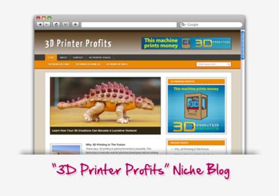 3D Printer Profits Niche Blog