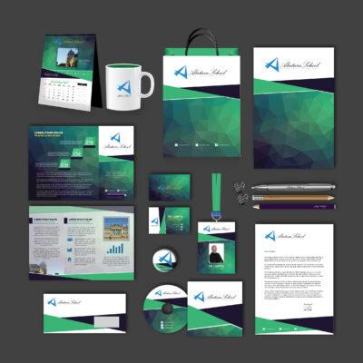 Abatara Print Design Template Pack