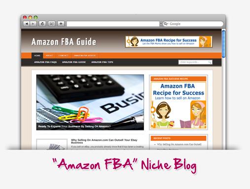 Amazon FBA Niche Blog
