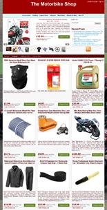 Azon Motorbike Store Niche Blog