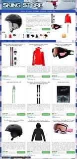 Azon Skiing Store Niche Blog