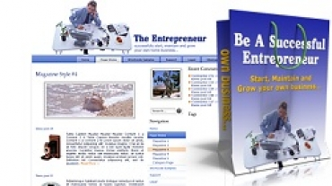 Be A Successful Entrepreneur - Themes Pack