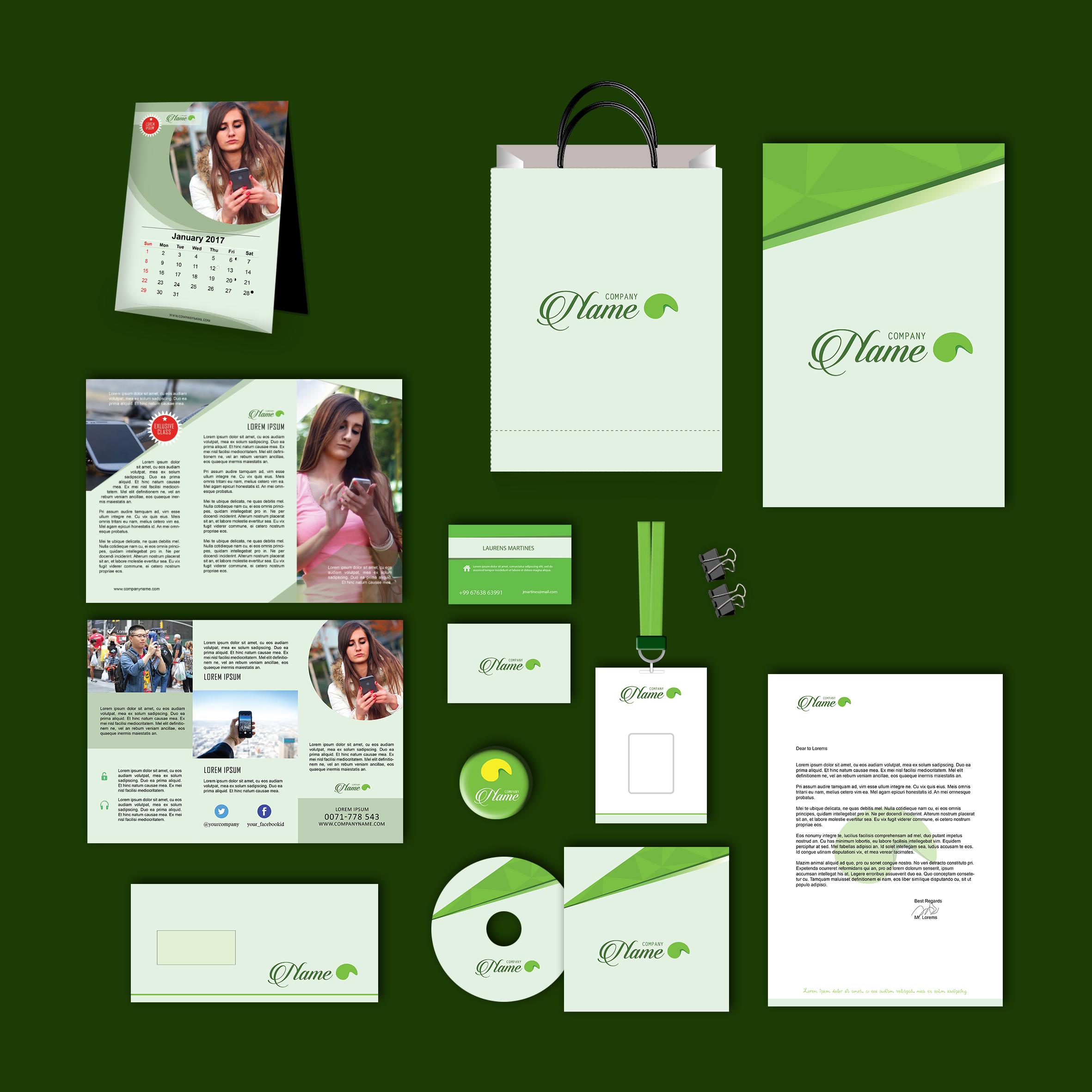 Birudeun Print Design Template