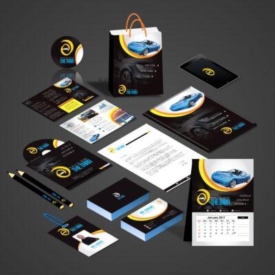Car Wash Print Design Template Pack