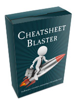 Cheatsheet Blaster Software