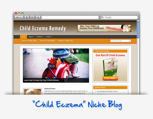 Child Eczema Remedy  Niche Blog