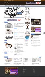 Coffee Shop Niche Blog