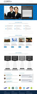 Corpy + Powerful WordPress Theme