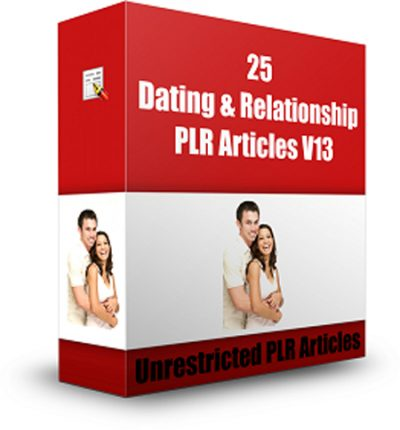 25 Dating And Relationship PLR Articles V 13