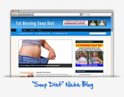Fat Burning Soup Diet Niche Blog
