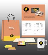 Foody Print Design Template Pack