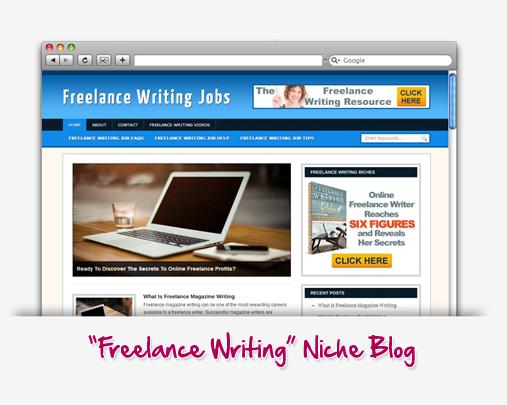 Freelance Writing Niche Blog