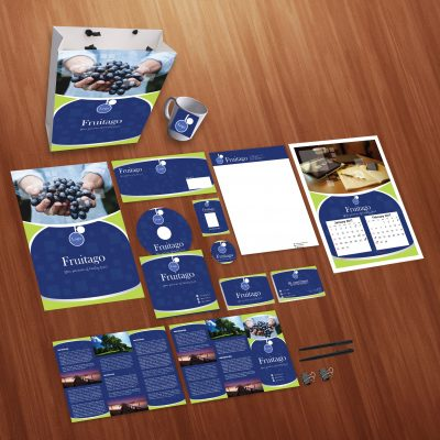 Fruitago Print Design Template Pack