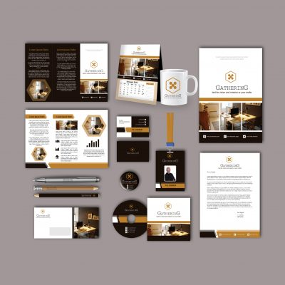 Gathering Print Design Template Pack
