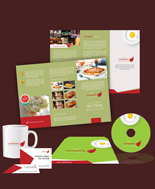 Green Chile Print Design Template Pack