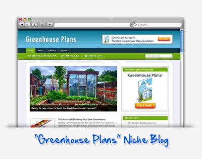 Greenhouse Plans Niche Blog