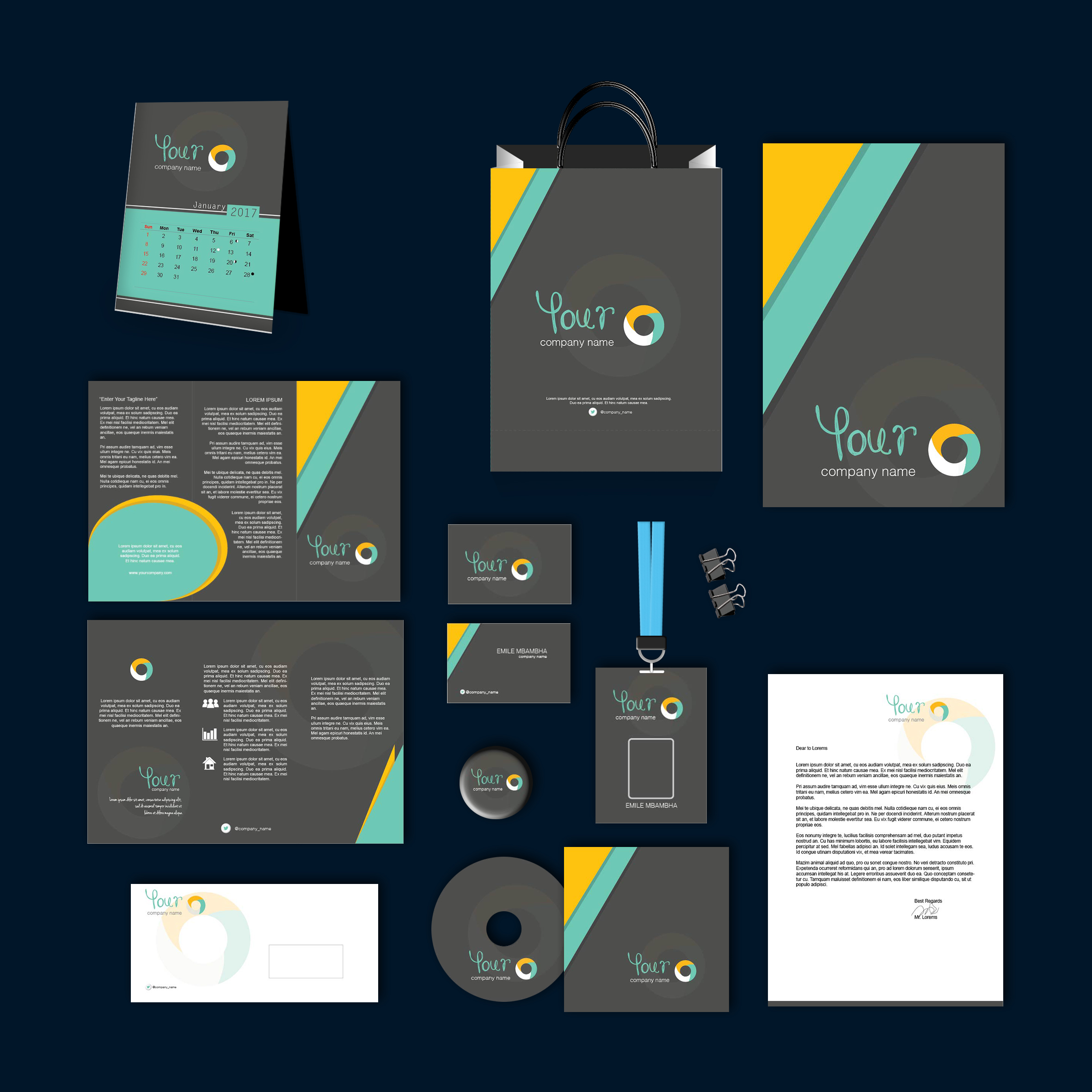 GreyTOSC Print Design Template Pack