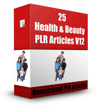 25 Health & Beauty Articles V 12