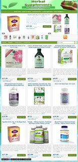 Herbal Supplements Niche Blog
