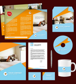 Homestay Print Design Template Pack