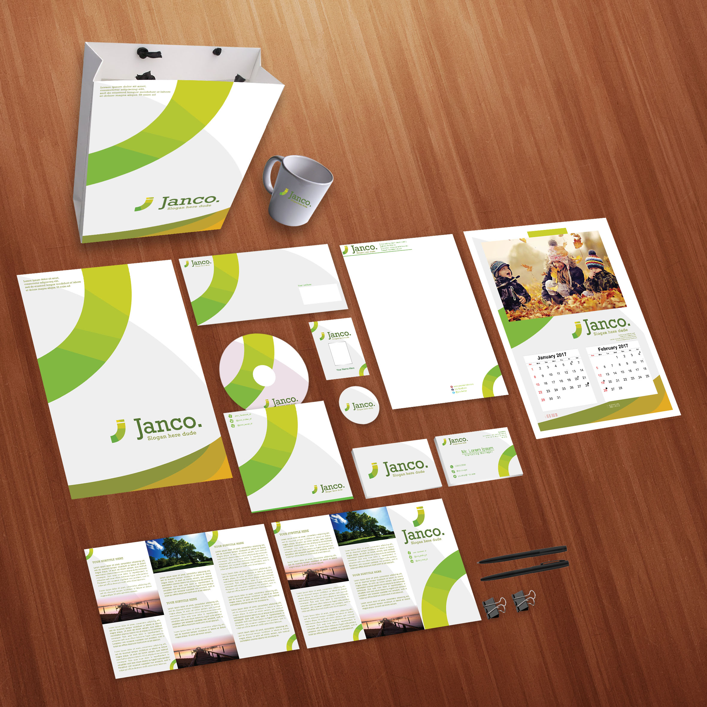 Janco Print Design Template Pack