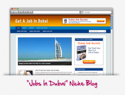 Jobs In Dubai Niche Blog