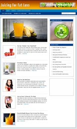 Juicing Niche Blog