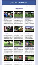 Lawn Care Video Site Builder Software