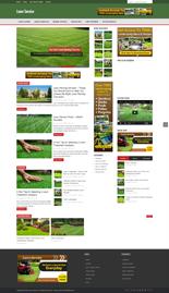 Lawn Service Niche Blog