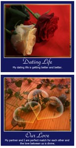 Dating And Love Affirmation Posters