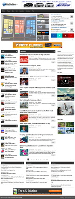 Magazine Style WordPress Theme # 3