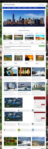 Mirage Premium WordPress Theme