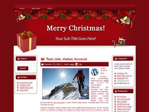 Mouse Christmas Template