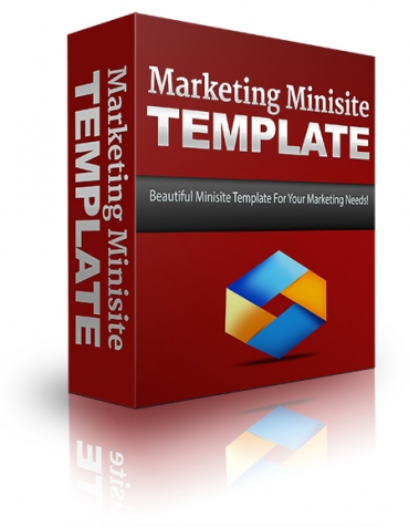 Marketing Minisite Template