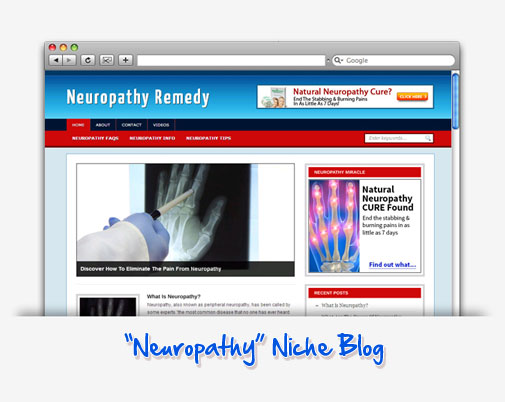 Neuropathy Remedy Niche Blog