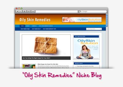 Oily Skin Remedies Niche Blog