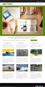 Omaterra Premium WordPress Theme