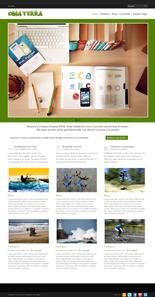 Omaterra Premium WordPress Theme