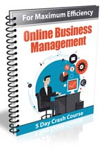 Online Business Management Crash Course