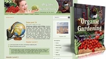 Organic Gardening Themes Pack