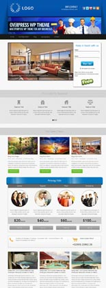 OverPress Multipurpose WordPress Theme