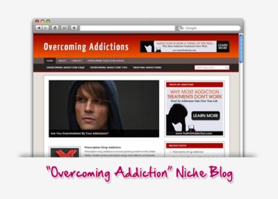 Overcoming Addictions Niche Blog
