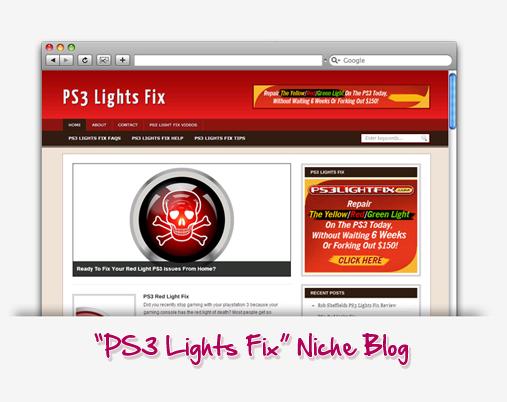 PS3 Light Fix Niche Blog