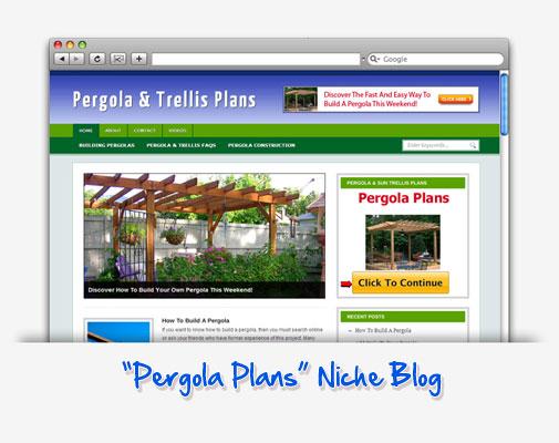 Pergola & Trellis Plans Niche Blog