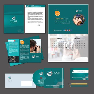 Photographic Print Design Template Pack