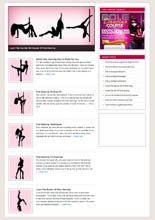 Pole Dancing Niche Blog