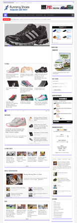 Running Shoes Azon Affiliate Store Package