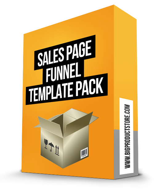 Sales Page Funnel Template Pack